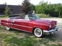 1953 Lincoln Capri Convertible (WI) - $54,500 OBO