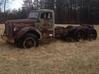 Has original gas motor, does not run, been sitting