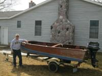 I have a 15' all marine wooden fishing watercraft with