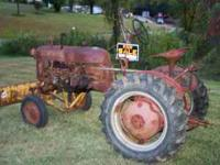 This listing is for an 1953 McCormick Farmall Cub