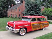 1953 Mercury Monterey Woody Woodie Station Wagon.