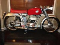 Ultra rare 1953 MV Agusta 125 Super Sport. The bike