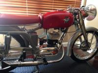 Ultra rare 1953 MV Agusta 125 Super Sport. The bike