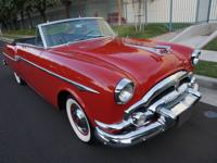 1953 Packard Series 2631 2 Door Convertible with the