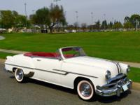 A Original 1953 Pontiac Chieftain Factory Convertible