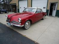 It's a 1953 Studebaker 2 door hardtop with the champion