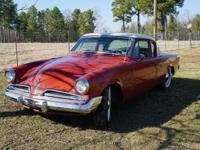 1953 Studebaker Tristar Commander Starlight. -The car