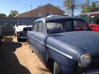 I HAVE 2 WILLYS ACE AERO 4 DOOR SEDANS FOR SALE 1 IS