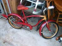 "I have a 1953 Schwinn 16"" bicycle. I got this at a"