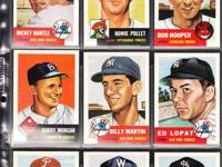 TOTAL 330 CARD 1953 TOPPS ARCHIVE 1991 SET. SET IS IN