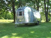 1954 Airstream Globetrotter is in excellent condition.