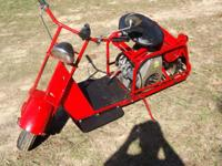 1954 ALLSTATE CUSHMAN 5 HP ENGINE RESTORED. SOLD WITH