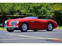 This 1954 Austin Healey 100-4 Convertible . It is