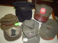 1.US navy sailor-$30.--SOLD 2.1954 Buffalo cap