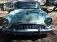 Classic 1954 buick Super 2dr hardtop all stock and