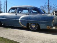 1954 Chevy 210 4 Door, Runs & Drives, Clear Title,