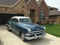 Beautiful 60-year old Chevy Bel Air. Garage kept in
