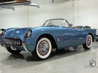 1954 Chevrolet Corvette fully restored and gorgeous in