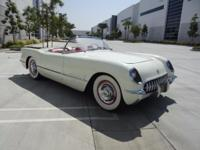 1954 Chevrolet Corvette  155 hp, 235.5 cu. in. OHV