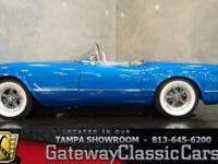 Stock #412-TPA 1954 Chevrolet Corvette  $60,000 Engine: