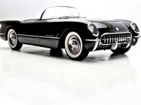 1954 Chevrolet Corvette Roadster  Art on four