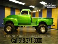 1954 Chevrolet Pickup 4x4 for sale! A Goodwrench 350