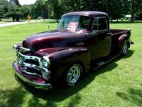 1954 Chevrolet Truck, Resto Mod. Truck was built