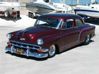 1954 Chevy 150 Business Coupe Low and Mean! 550 HP