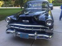 1954 Chevy Bel Air (WI) - $17,900 Low mileage (69k), 4