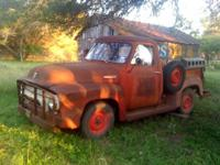 1954 classic ford Pickup. 6 straight, Has been stored