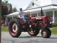 1954 Farmall 200, converted to 12volts and has three