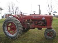 1954 Farmall Super MTA Charlynn power steering great