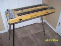 1954 Fender Steel Guitar, double neck, 8 string.