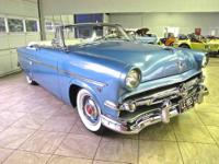 Up for sale is an uncommon 54 Ford Crestline