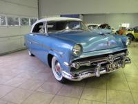 1954 Ford Crestline convertible in great condition.