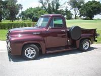 . . . 1954 FORD. . . F-100 . . . . PICK UP TRUCK. . . .