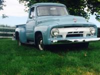 --SUMMARY-- 1954 Ford F100 Short bed Truck Inline 6