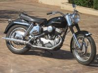 This very nice 55ci (900cc) KH Flat Head survivor is an