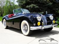 Fully restored California XK with matching numbers and