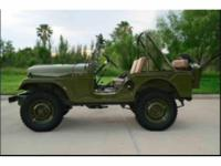 Year : 1954 Make : Jeep Model : Willys Restoration
