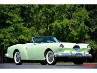 This 1954 Kaiser Darrin Convertible . It is equipped