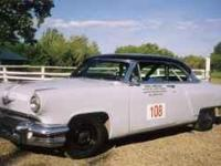 1954 Lincoln Capri ROAD RACE CAR to race in the