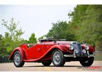This 1954 MG TF 2dr 1250 Convertible . It is equipped