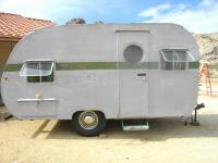 My wife and I purchased this trailer from a restorer