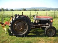 Gas Engine, Runs Good, Hydraulics work good,