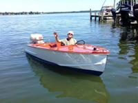 1954 Trojan 14' runabout with 1960 40HP Johnson