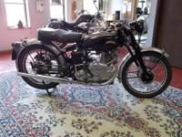 The bike runs well and starts easily. It has a BTH