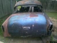 I have a 1954 Chevy 2 door shell for sale. It has a