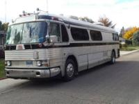 1954 GMC 4104 Conversion Bus. 1954 Greyhound bus RV