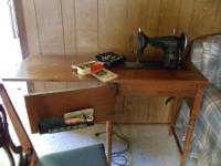 1954 Kenmore Rotary Sewing Machine - chair not